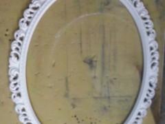 Белпя рама для зеркала