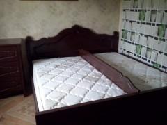 Кровать по индивидуальным размерам с разделительной спинкой