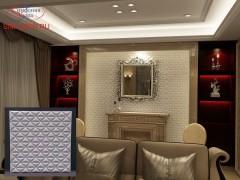 """Симфония Узора: 3D панель """"Треугольники"""""""